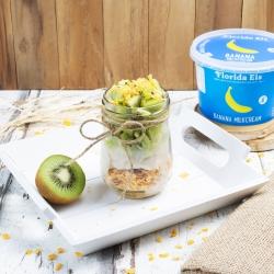 Florida's Kiwi Banana Glas