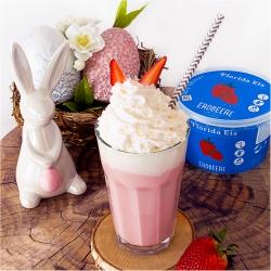 Florida Eis Oster-Erdbeer-Shake